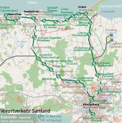 Königsberg Kaliningrad Karte.Bahninfo Regional Straßenbahn Und Obus In Königsberg Kaliningrad